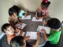 Kiddos drawing